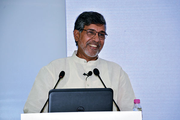 Kailash Satyarthi, Nobel Peace Prize winner for 2014, Parmesh's Viewfinder