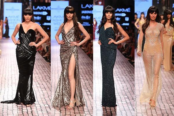 Monisha Jaising lakme fashion week winter festive 2015 day 4
