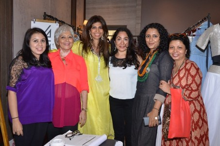 Veda Raheja, Geetu Hinduja, Zeba Kohli, Seema Mehrotra, Parveen Dusanj, Nandita Puri