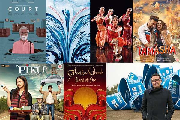 Most Moving stories 2015, films, books, ads, theatre, dance, art, Piku, Amitav Ghosh, Tamasha, Imtiaz Ali, Anuradha Roy, Court