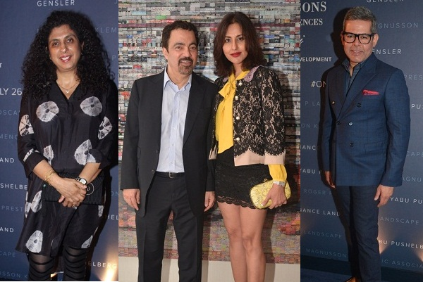 Guests at the launch of Four Seasons Private Residences, Mumbai