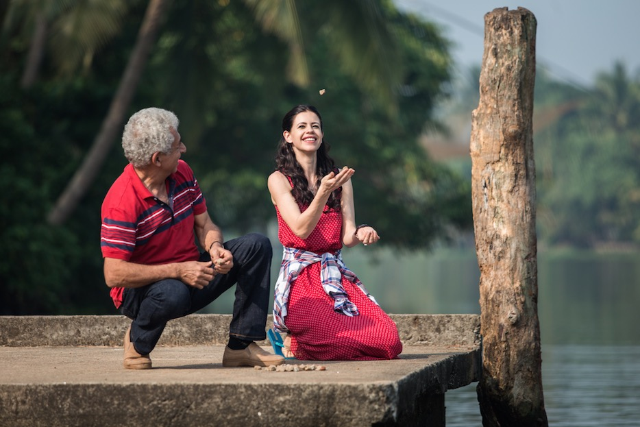 waiting movie review, kalki koechlin, naseeruddin shah