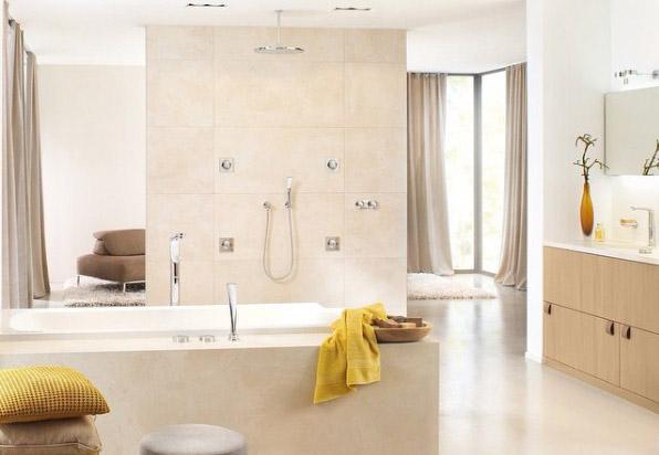 Grohe bathroom, Rainshower SmartControl system