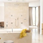 Grohe bathroom, Rainshower SmartControl system