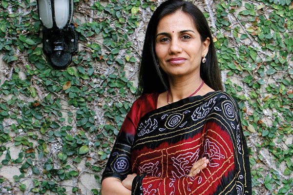 Chanda Kochhar, MD and CEO of ICICI Bank