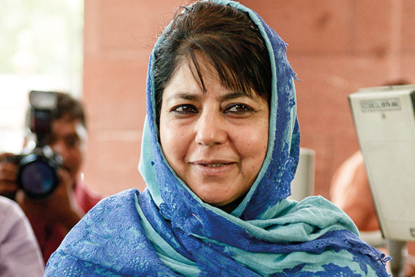 Mehbooba Mufti, First Woman Chief Minister of Jammu and Kashmir