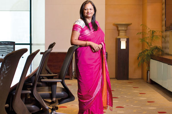 Satyavati Berera, COO of PricewaterhouseCoopers (PwC) India