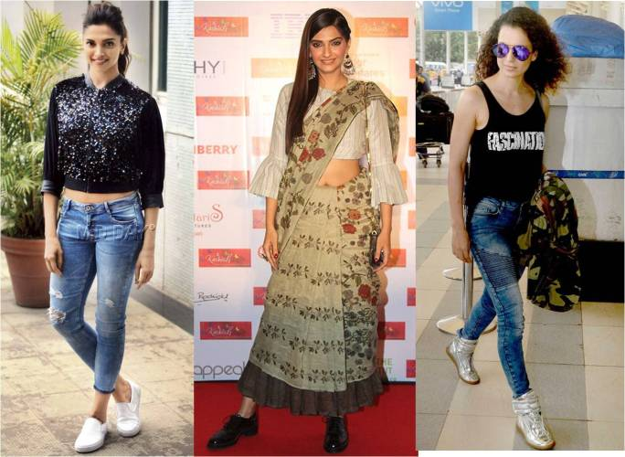 Deepika  Padukone, Sonam Kapoor, Kangana Ranaut