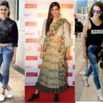 Deepika Padukone, Sonam Kapoor, Kangana Ranaut, fashion, shoes, androgyny, footwear,