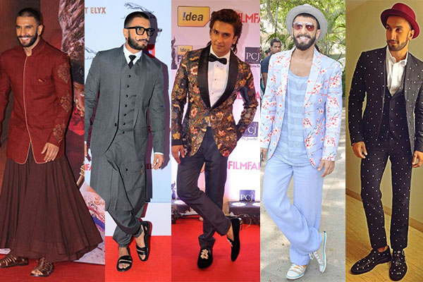 Ranveer Singh, Indian menswear fashion, androgyny