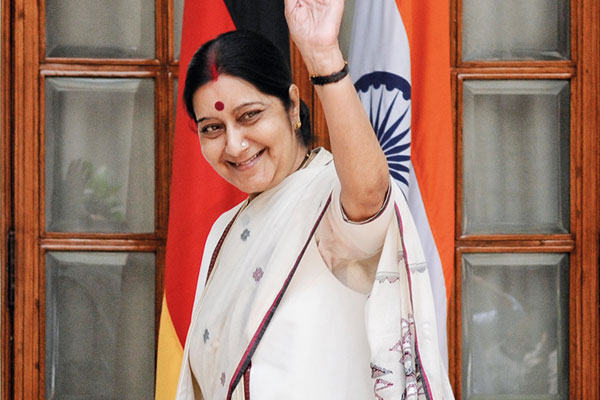 Sushma Swaraj, Minister of External Affairs