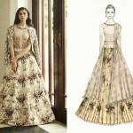 Varun Bahl Sketch, India Couture Week 2016, Bridal couture, fashion, Indian designer