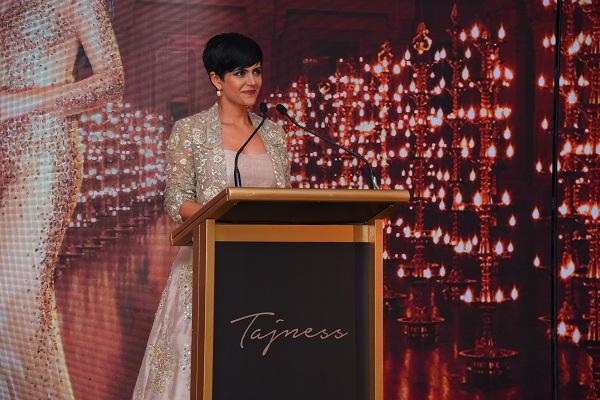 Mandira Bedi at the launch of Tajness in Mumbai