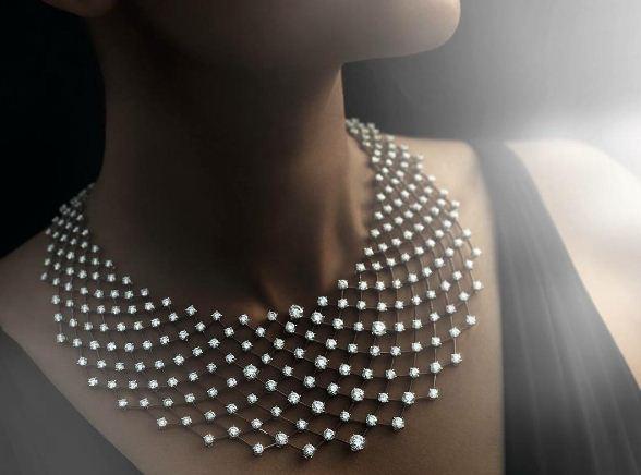 Constellation Necklace, Nirav Modi, Paris, Biennale des Antiquaires, jewellery,