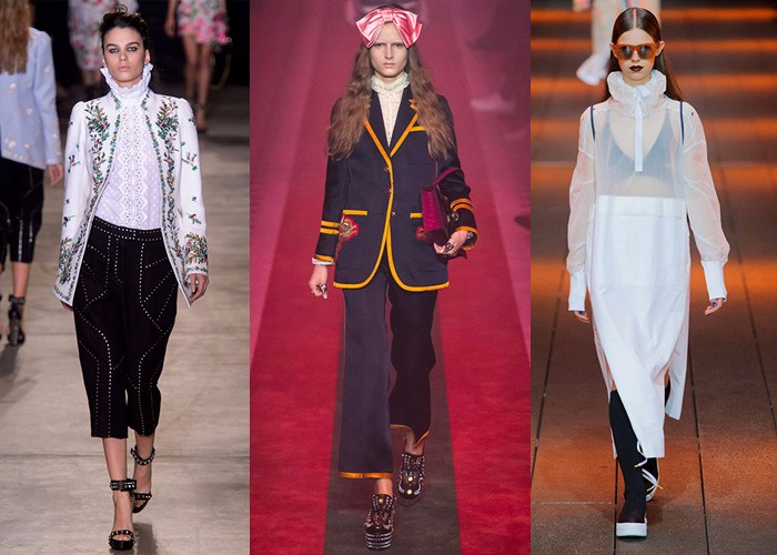 fashion, trends, fashion week, edwardian collar,