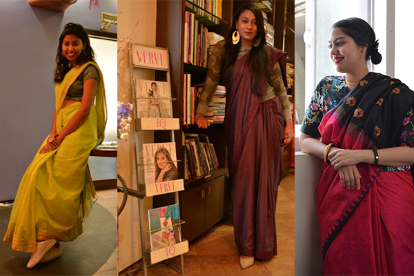 verve revival, innovative ways to wear a sari
