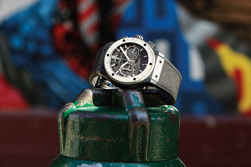 Classic Fusion Aerofusion Chronograph Concrete Jungle, Watches