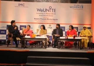 Arnab Goswami, Ranjana Kumari, Zarina Screwvala, Aditya Gupta, Subhashini Vasanth, Haseena Hussain