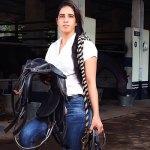 Rupa Singh, First Indian woman jockey