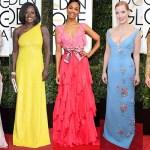 Golden Globes 2017, fashion, red-carpet