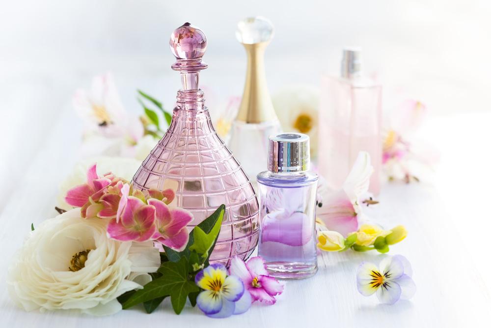 Spring fragrances, perfumes