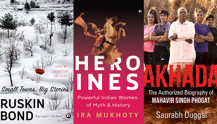 Books, Small Towns, Big Stories, Akhada, Heroines