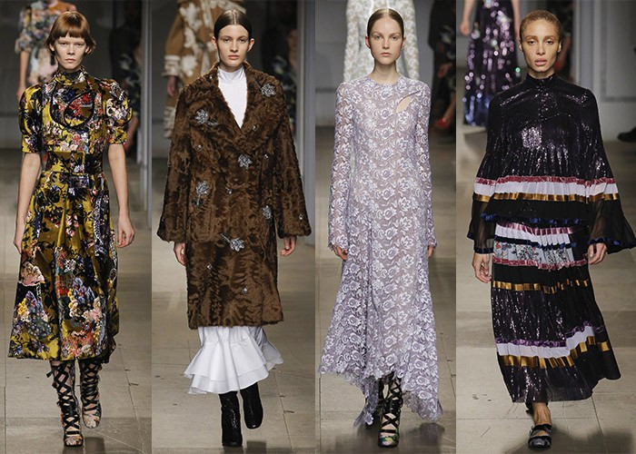 Erdem, London Fashion Week AW17, London Fashion Week, Best Shows, Fashion, Runway,