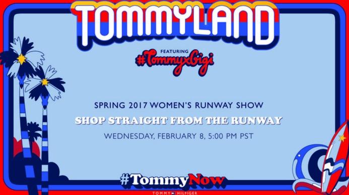 Tommy Hilfiger livestream , ss17