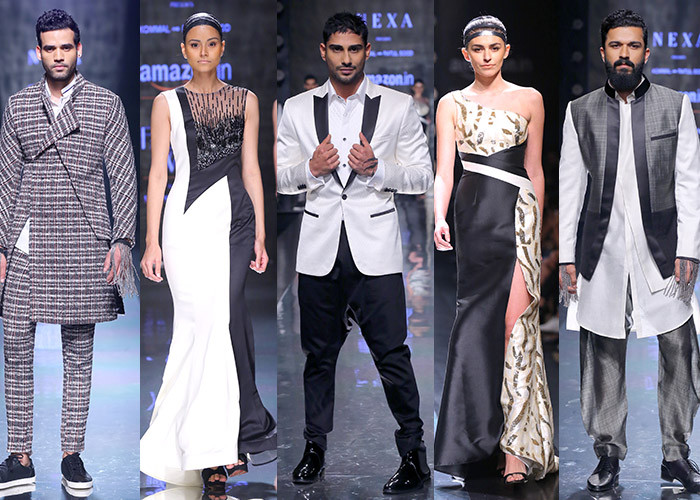 Kommal & Ratul Sood, Amazon India Fashion Week Autumn Winter 2017, Amazon India Fashion Week, AIFW, Fashion, Designer,