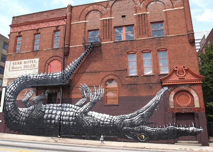 Featured image, ROA. Atlanta, Mural, Travel, Art, Artists,