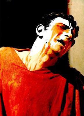 Oedipus Rex by Sophocles, Dir. E.Alkazi, E.Alkazi as Oedipus. Theatre Group, Mumbai 1954