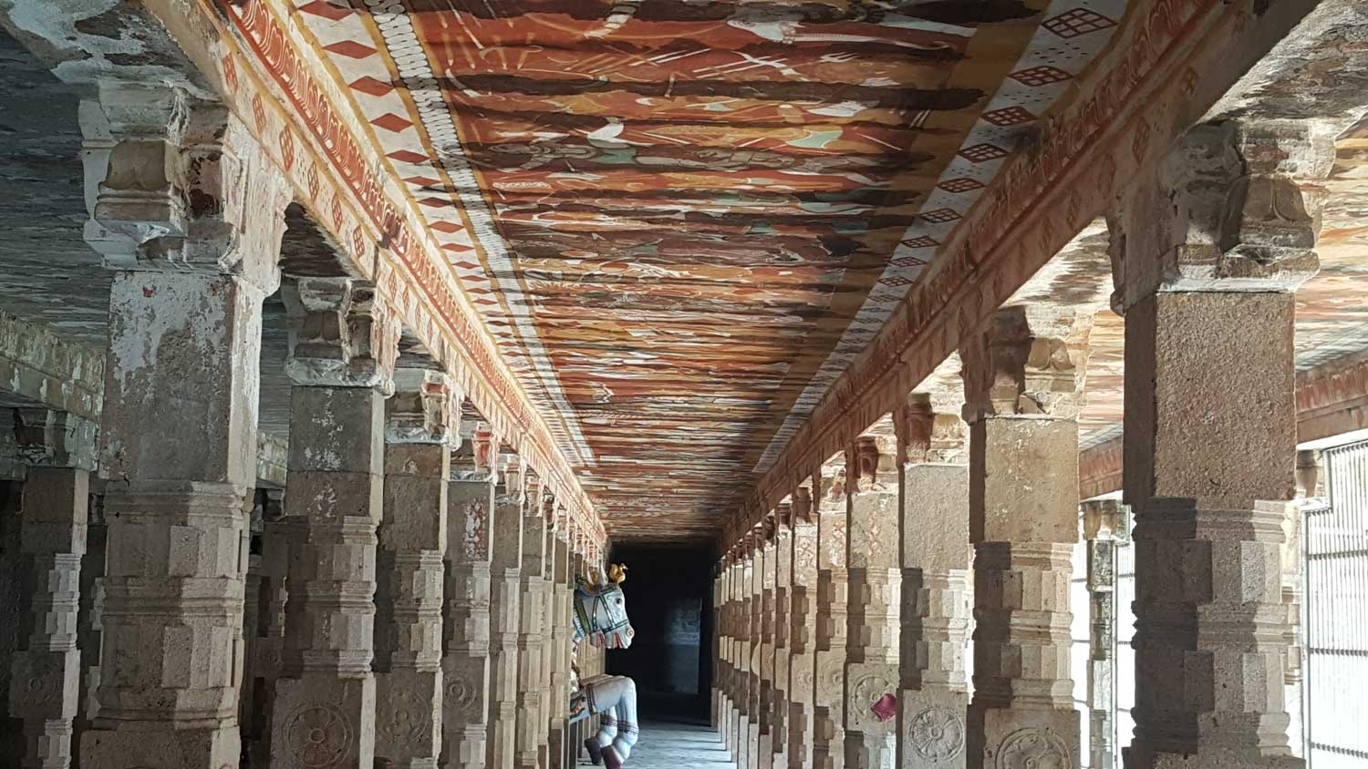 The restored murals at the Thyagarajaswamy Temple, Thanjavur, Parmesh Shahani