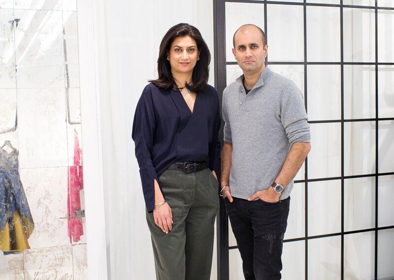 Sachin & Babi, Designer duo, New York, Sachin and Babi Ahluwalia
