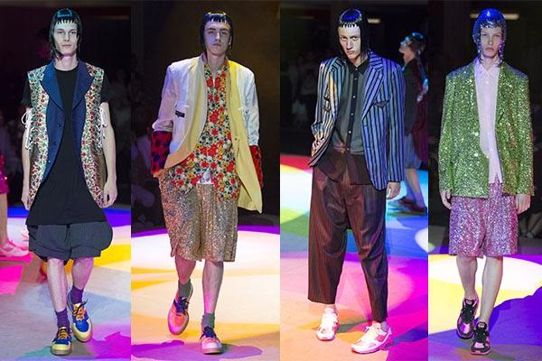 Comme des Garçons, Menswear, Trend Report, Fashion, Style, Spring Summer 2018, Trends
