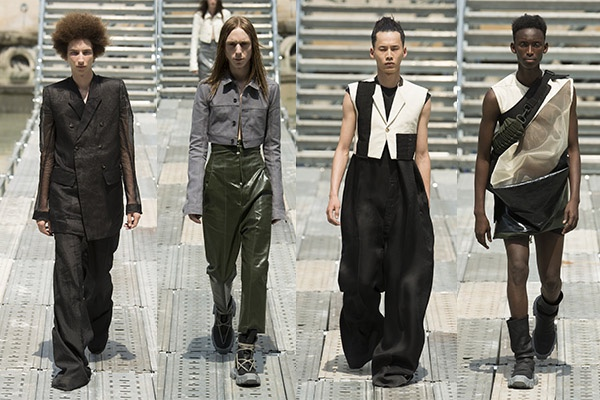Rick Owens, Menswear, Trend Report, Fashion, Style, Spring Summer 2018, Trends