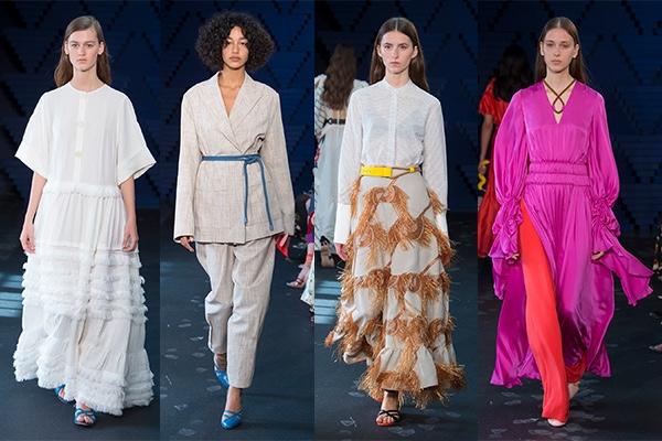 London Fashion Week, 2018, Spring, LFW, Fashion, Style, Ready To Wear, Roksanda