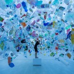 Art, Featured, Grafitti, Installation, Mumbai, Online Exclusive, plastic, Sassoon Dock, Sea pollution, St+art Foundation, Tan Zi Xi
