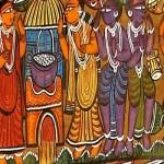 Artwork from PotliArts Exhibition and Sale at Taj Art Gallery, Mumbai, Dec 2017