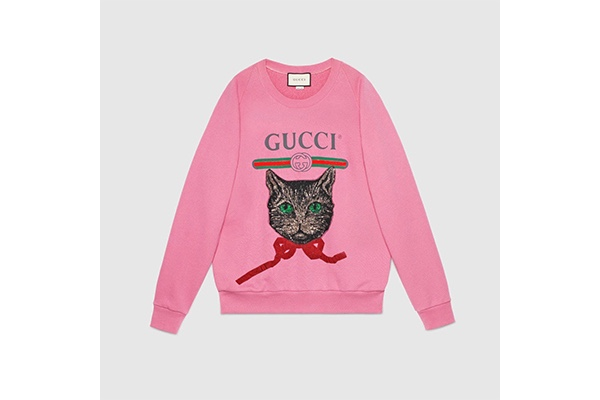 Gucci, Mystic Cat Sweatshirt illustrated by Spanish Artist Ignasi Monreal, Christmas, Fashion, Featured, Gift, Gifting, Guide, Ideas, Luxury, Online Exclusive, Presents, Style