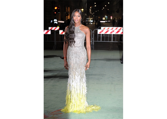 Fashion, Featured, Online Exclusive, Red Carpet, Style, Naomi Campbell at the Green Carpet Fashion Awards Italia