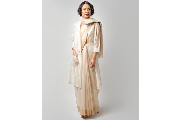 Nicobar, Cloud Cover Sari, Christmas, Fashion, Featured, Gift, Gifting, Guide, Ideas, Luxury, Online Exclusive, Presents, Style
