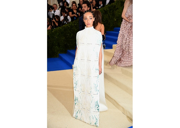 Fashion, Featured, Online Exclusive, Red Carpet, Style, Ruth Negga in Valentino Couture at the Met Gala