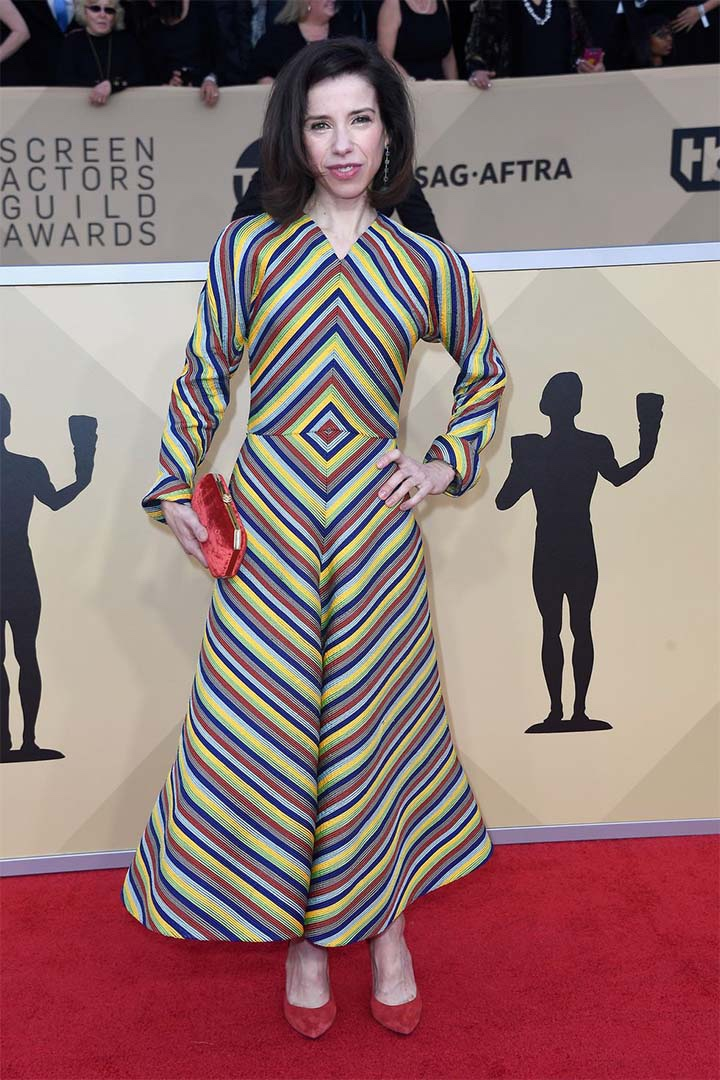 Sally Hawkins, Christian Dior Couture, 2018, 24th Annual Screen Actors Guild Awards, Fashion, Featured, Online Exclusive, Red Carpet, SAG Awards, Screen Actors Guild Awards, Style