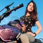 Anam Hashim, Biker