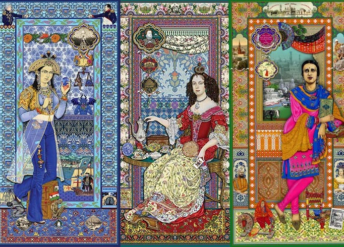 Art, Art Show, Exhibition, Featured, India, Indian Textiles, Slavery, Slaves of Fashion, The Singh Twins