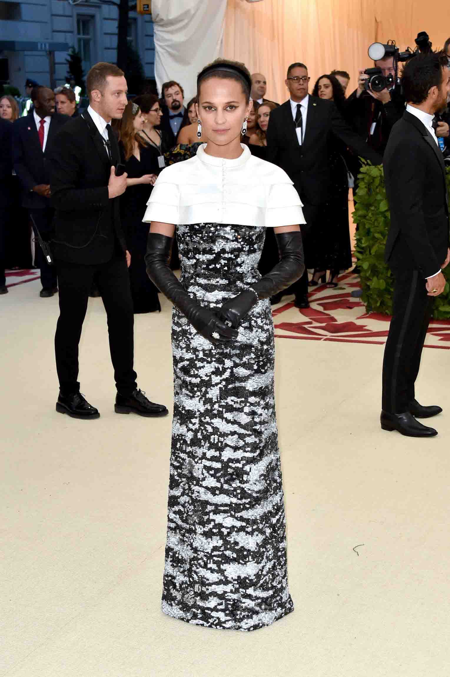 Image result for Alicia Vikander Met gala 2018