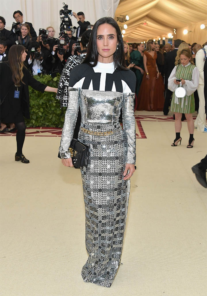 Catholic, Catholicism, Designers, Fashion, Fashion's Biggest Night Out, Heavenly Bodies: Fashion and the Catholic Imagination, Hollywood, Mat Gala, Met Ball, Met Ball 2018, Met Gala 2018, Metropolitan Museum of Art's Costume Institute Gala, Metropolitan Museum of Art's Costume Institute Gala 2018, Papal, Religion, Style, The Vatican, Vestments, Jennifer Connelly, Louis Vuitton