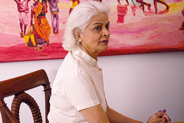 Sultana Abdullah, Retired air-hostess