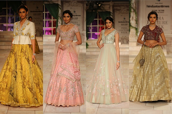 Anju Modi, Bridal, Couture, Fashion, Featured, India Couture Week, India Couture Week 2018, Online Exclusive, Style