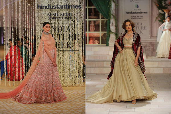 Aditi Rao Hydari, Anju Modi, Bridal, Couture, Fashion, Featured, India Couture Week, India Couture Week 2018, Kangana Ranaut, Online Exclusive, Style, Tarun Tahiliani